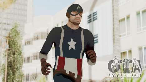 Trevor in Captain America Suit für GTA San Andreas