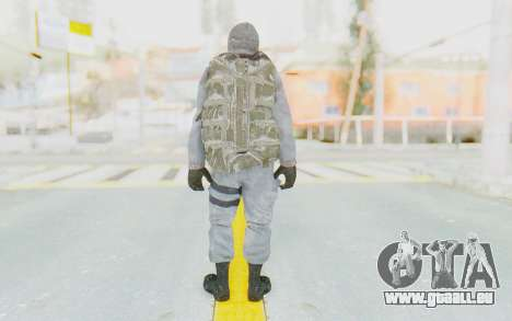 COD BO Grigori Weaver Winter für GTA San Andreas dritten Screenshot