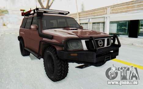 Nissan Patrol Y61 Off Road für GTA San Andreas rechten Ansicht