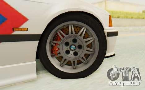 BMW M3 E36 Police Indonesia pour GTA San Andreas vue intérieure