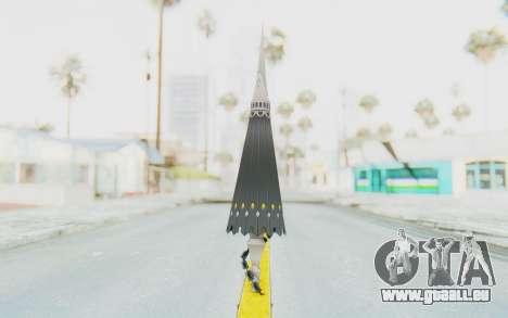 Misteltein Weapon pour GTA San Andreas deuxième écran