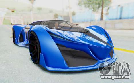 GTA 5 Grotti Prototipo v1 für GTA San Andreas rechten Ansicht