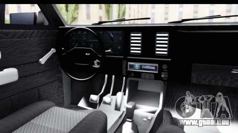 Chevrolet Chevette SL für GTA San Andreas Innenansicht