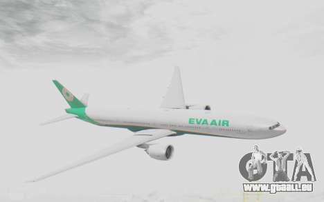 Boeing 777-300ER Eva Air v3 für GTA San Andreas