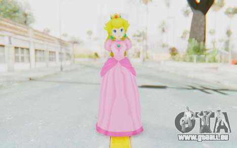 Princess Peach pour GTA San Andreas deuxième écran