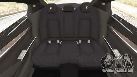 Maserati Quattroporte 2013 für GTA 5
