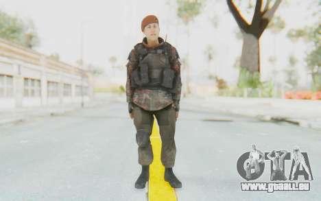 COD MW2 Russian Paratrooper v4 pour GTA San Andreas deuxième écran