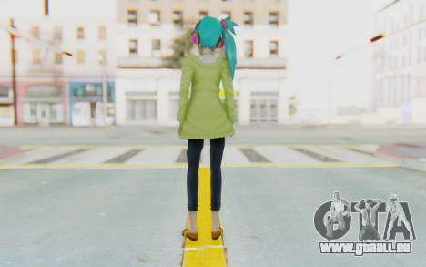 Autumn Breeze Miku für GTA San Andreas dritten Screenshot