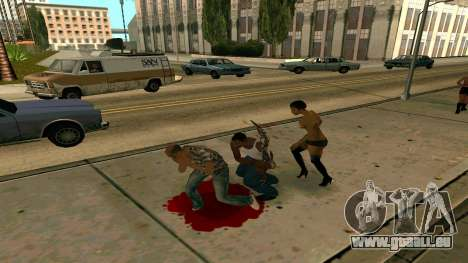 Prince Of Persia Water Sword pour GTA San Andreas troisième écran