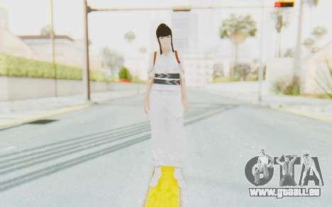 Kazumi Mishima pour GTA San Andreas deuxième écran