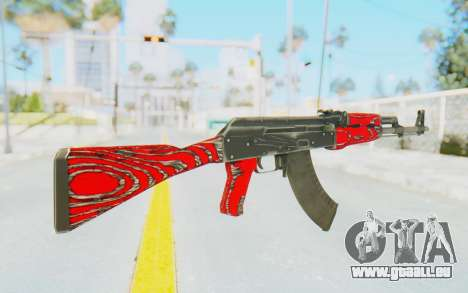 CS:GO - AK-47 Laminate Red für GTA San Andreas zweiten Screenshot