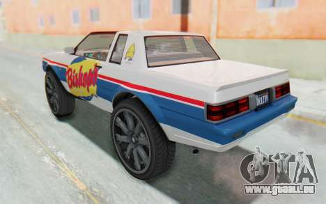 GTA 5 Willard Faction Custom Donk v1 für GTA San Andreas Innen