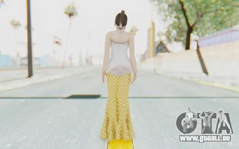 Linda Meilinda Kebaya für GTA San Andreas dritten Screenshot
