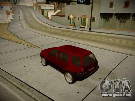 Ford Escape 2005 pour GTA San Andreas sur la vue arrière gauche