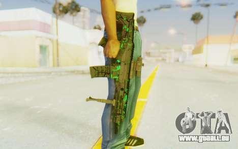 ACR CQB Magma Green pour GTA San Andreas