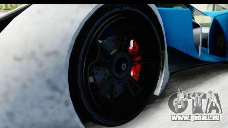 GTA 5 Grotti X80 Proto IVF für GTA San Andreas Rückansicht