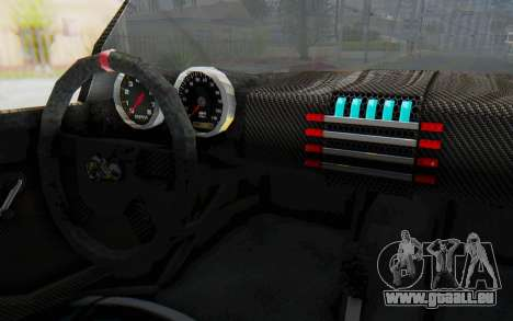 Bumblebee-R für GTA San Andreas Innenansicht