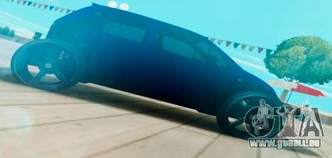 Daewoo Matiz R20 Vossen für GTA San Andreas linke Ansicht