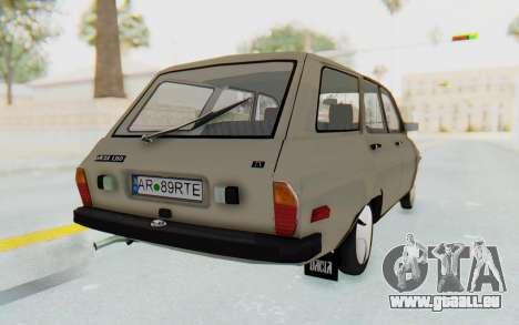 Dacia 1310 Break 1988 pour GTA San Andreas sur la vue arrière gauche