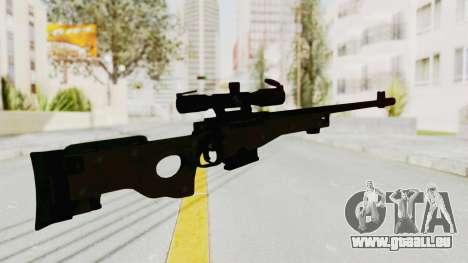 L96 pour GTA San Andreas troisième écran