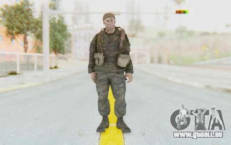 COD BO PVT Scott Vietnam für GTA San Andreas zweiten Screenshot