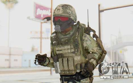 CoD AW US Marine Assault v2 Head B pour GTA San Andreas