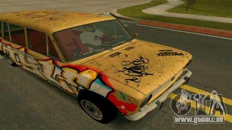 BK VAZ 2102 v1.0 Drift für GTA San Andreas Innenansicht