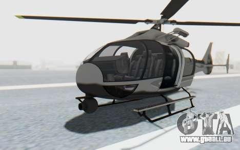 GTA 5 Maibatsu Frogger Civilian IVF pour GTA San Andreas vue de droite