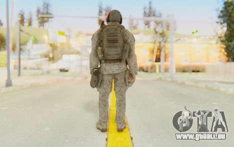 CoD MW2 Ghost Model v5 pour GTA San Andreas troisième écran