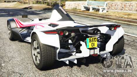 GTA 5 BAC Mono v2.0 hinten links Seitenansicht