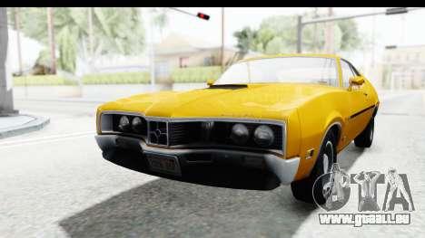 Mercury Cyclone Spoiler 1970 IVF pour GTA San Andreas