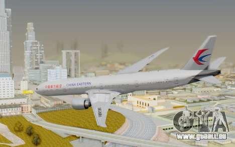 Boeing 777-300ER China Eastern Airlines für GTA San Andreas linke Ansicht
