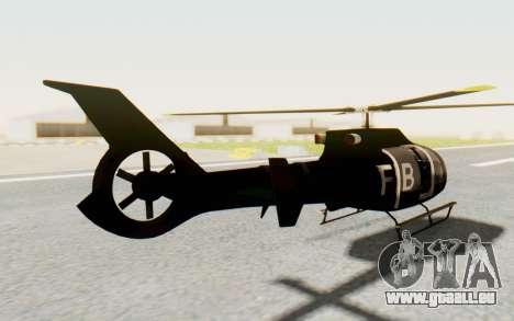 GTA 5 Maibatsu Frogger FIB für GTA San Andreas linke Ansicht