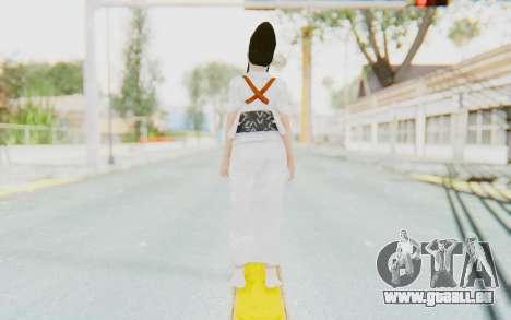 Kazumi Mishima pour GTA San Andreas troisième écran