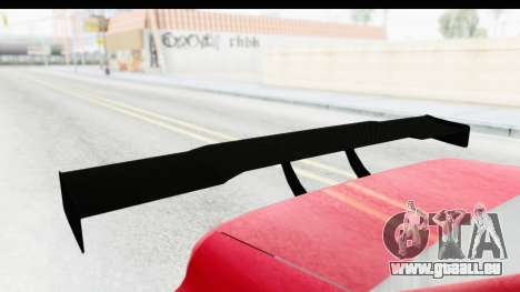 Elegy KraZ Edition Beta 0.8.5 für GTA San Andreas Rückansicht