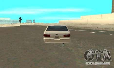 Caprice styled Premier für GTA San Andreas zurück linke Ansicht