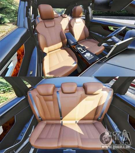 GTA 5 Audi A4 2017 v1.1 Lenkrad