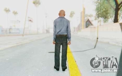 Mafia 2 - Jimmy Prison pour GTA San Andreas troisième écran