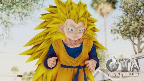 Dragon Ball Xenoverse Goten SSJ3 pour GTA San Andreas