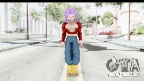Dragon Ball Xenoverse Future Trunks SSJ4 pour GTA San Andreas deuxième écran