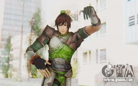 Dynasty Warriors 8 - Guan Su pour GTA San Andreas