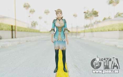 Dynasty Warriors 8 - Wang Yuanji für GTA San Andreas zweiten Screenshot