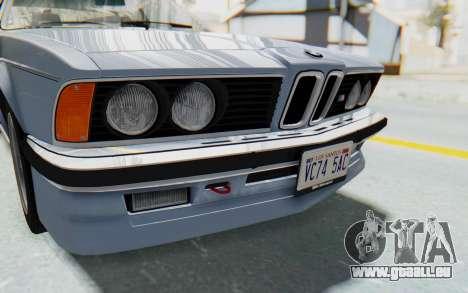 BMW M635 CSi (E24) 1984 IVF PJ1 pour GTA San Andreas vue de côté