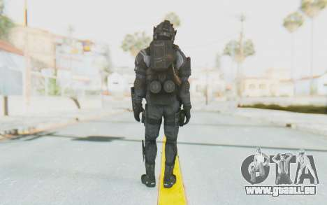 Federation Elite LMG Original für GTA San Andreas dritten Screenshot