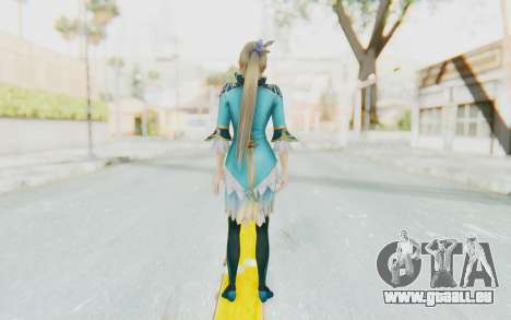 Dynasty Warriors 8 - Wang Yuanji für GTA San Andreas dritten Screenshot