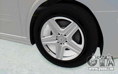 Mercedes-Benz Viano W639 2010 Long Version pour GTA San Andreas vue arrière