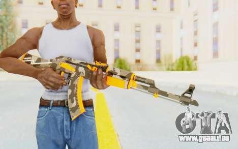 CS:GO - AK-47 Vanquish pour GTA San Andreas