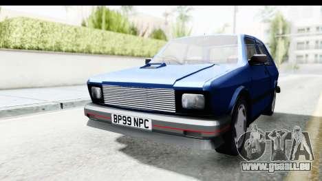 Zastava Yugo Koral UK pour GTA San Andreas