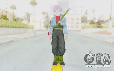Trunks Del Futuro v2 für GTA San Andreas zweiten Screenshot