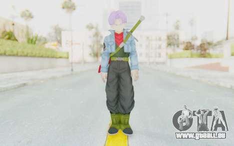 Trunks Del Futuro v2 pour GTA San Andreas deuxième écran